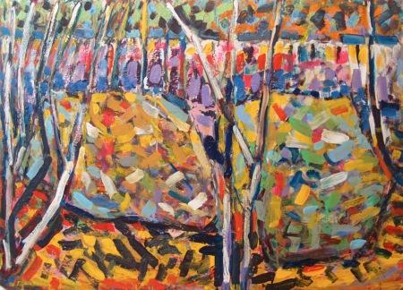 Forest Abstract - Sebastian Domenico