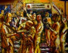 Hare Krishna at Airport by Sebastian Domenico